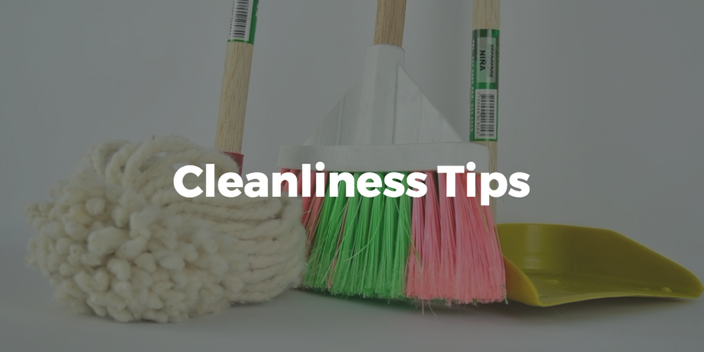 Cleanliness Tips