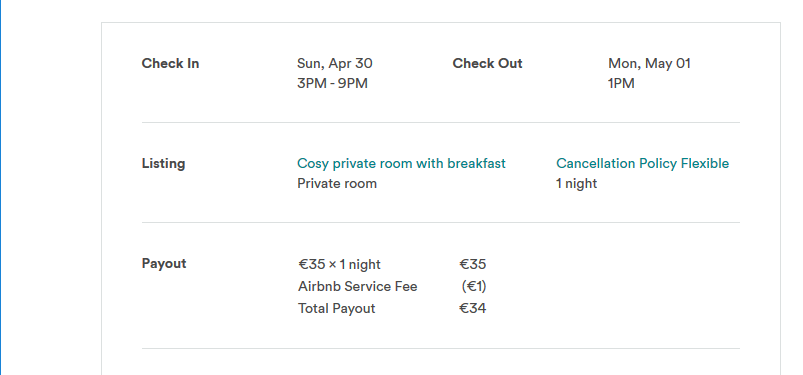 Airbnb wrong currency