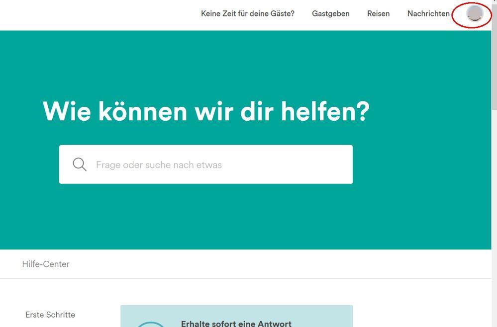 Tutorial: E-Mail an den Airbnb-Support schreiben