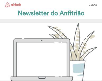 Newsletter do Anfitrião - Junho 2017