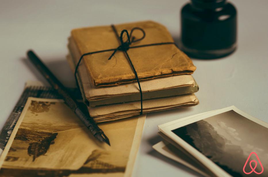 Seus hóspedes deixam mensagens em um livro de visita?