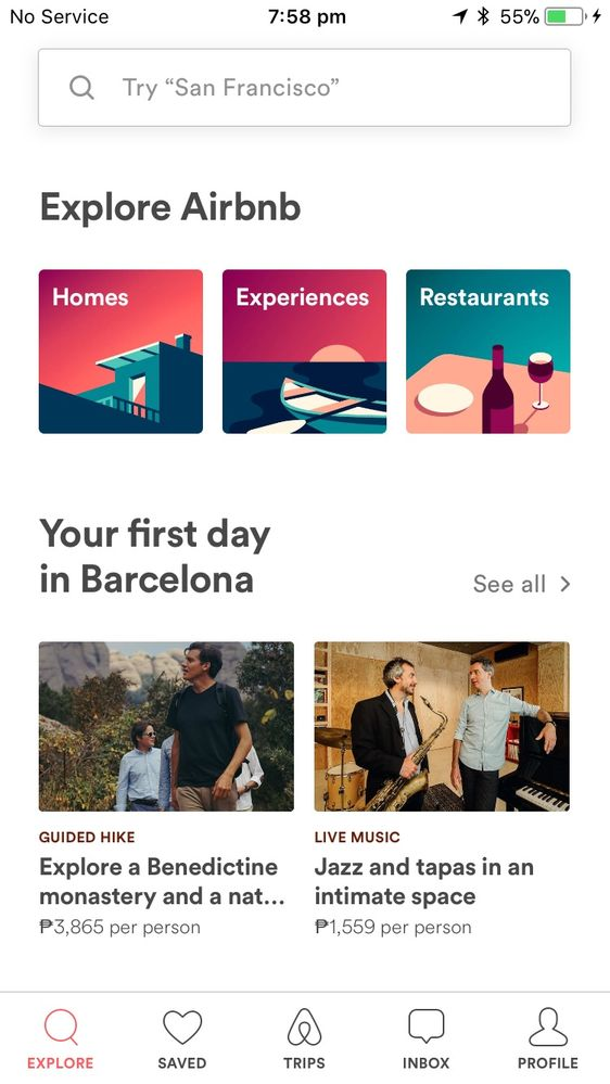 Airbnb now adds restaurants to experiences and homes.