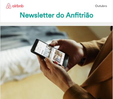 Newsletter do Anfitrião - Outubro 2017