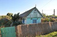 Dorfhaus im Donaudelta