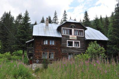 ein Ferienhaus/Karpaten