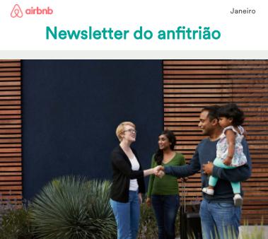 Newsletter do Anfitrião - Janeiro 2018