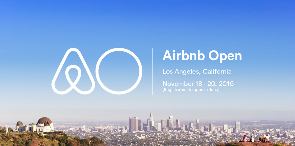 Airbnb Open 2016 em Los Angeles