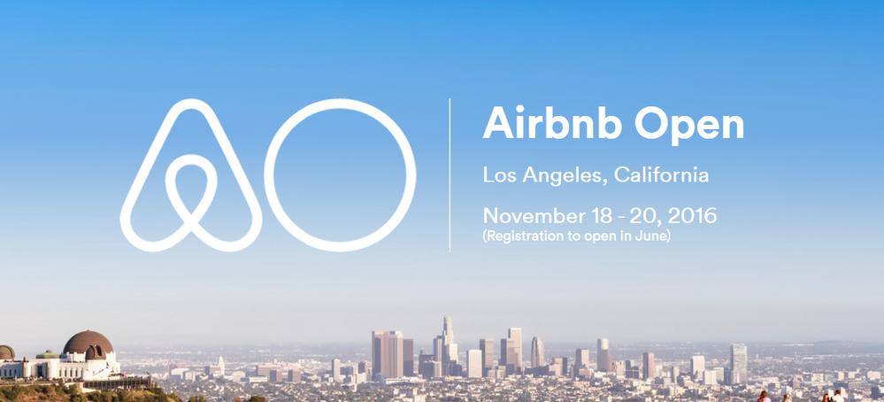 Airbnb Open 2016 en Los Angeles
