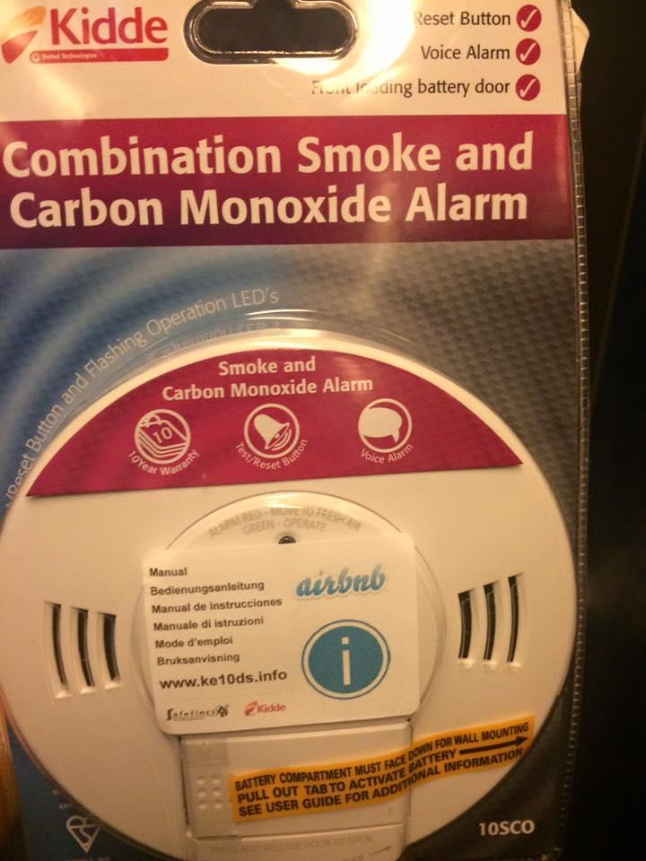 Kidde Rilevatore di fumo e monossido di carbonio Fai da te Sensori ...