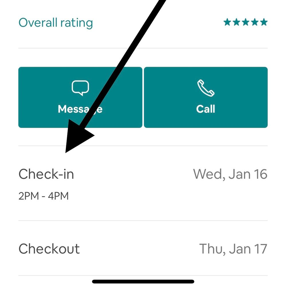 Guest can choose early checkin time?
