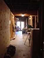 Former basement storage area.
