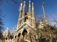 A picture I took of the Sagrada Familia in 2018