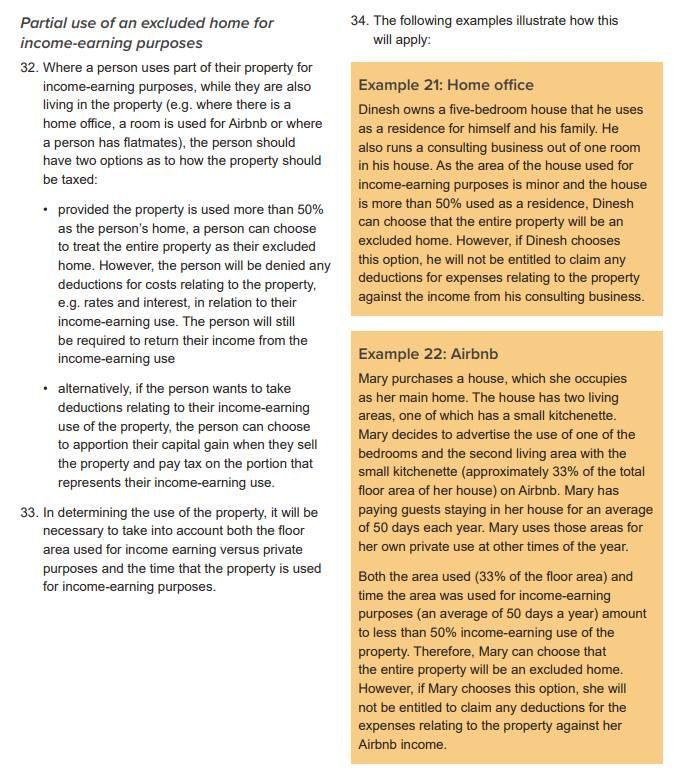 NZ Hosts - Summary of recent tax changes & proposals