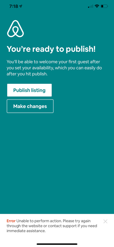 How can I publish my listing?