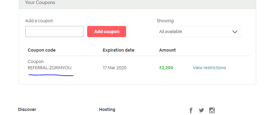 Referral Coupon Is Not Working Airbnb Community