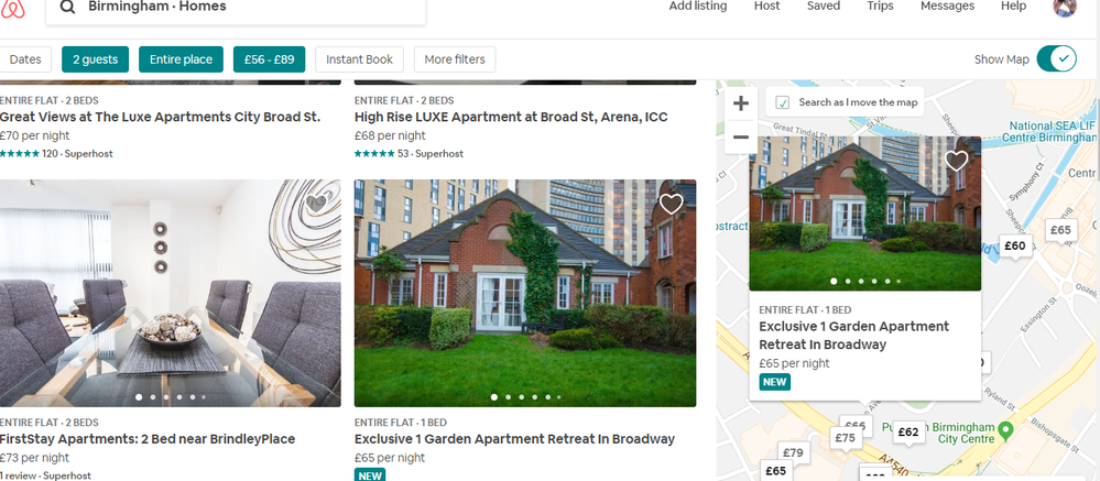 I Can T See The Flat In The Map Airbnb Community