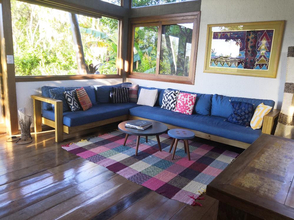 sofá da sala feito sob medida