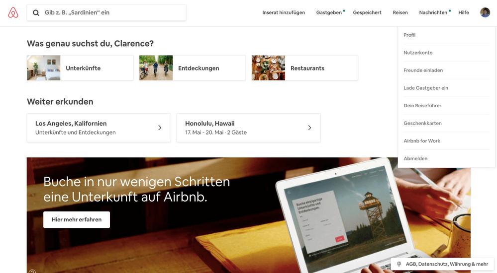Eine bessere Möglichkeit, Reiseführer zu erstellen: Neue Funktionen auf Airbnb