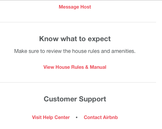View House Rules & Manual Link