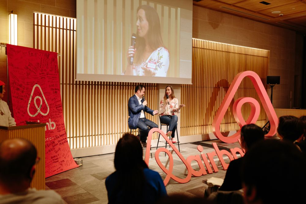Welcome home Yasu, Airbnb's Japan country manager, and Laura Chambers, Airbnb's general manager of Homes Host, kick off the world tour in Tokyo.