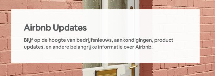 Feedback benodigd over de Airbnb Updates blog