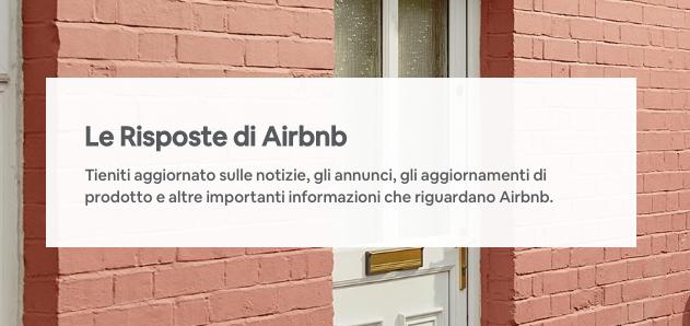 Cosa ne pensi della room Le Risposte di Airbnb?