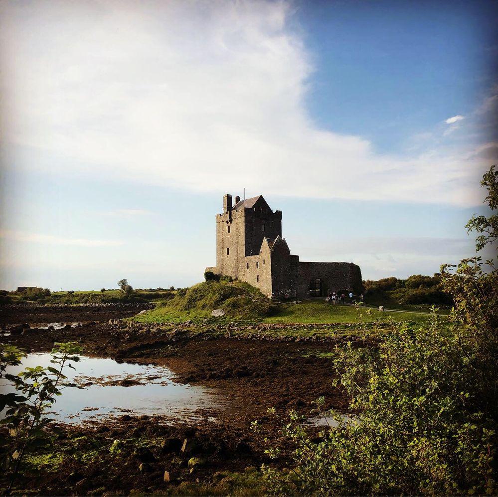 Le château de Dunguaire