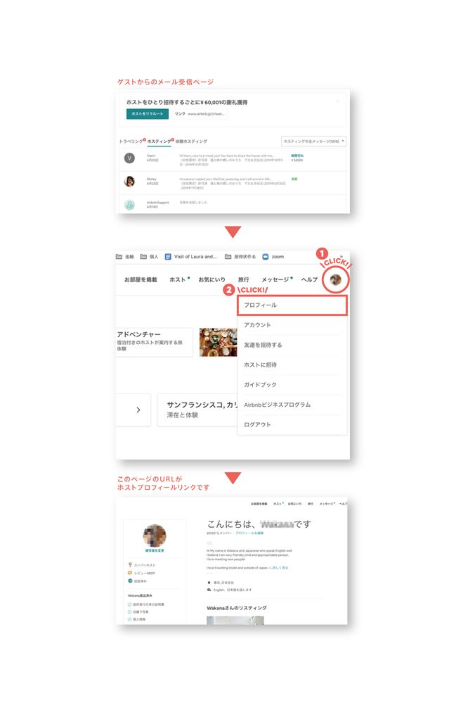 【Facebook参加用】プロフィールURL、リスティングURLの取得の仕方