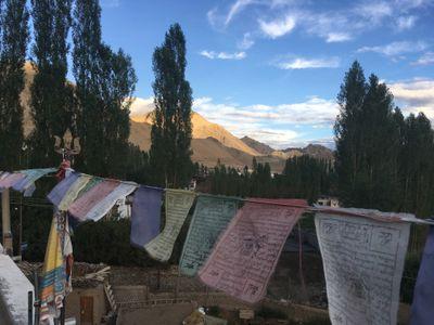 Ladakh vista cidade de Leh