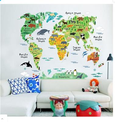 WORLD MAP includes UK & New Zealand!