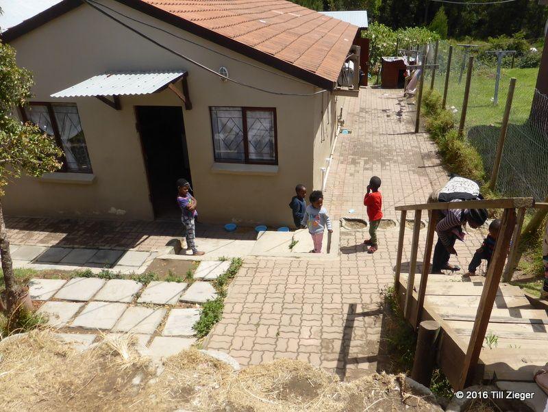 Waisenhaus im Township