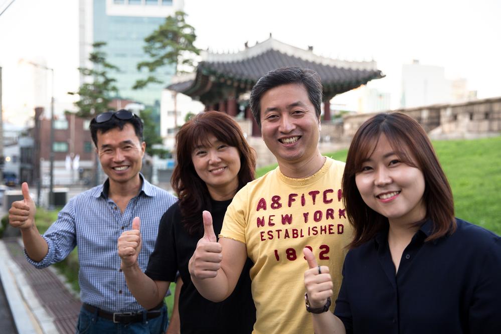 Âmes sœurs à Séoul : le parcours d'un couple, du monde de l'entreprise au secteur de l'hébergement