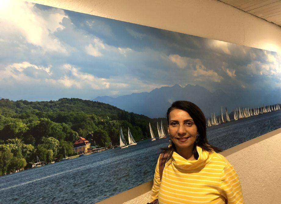 Sommerbild vom Starnberger See, Berg am See