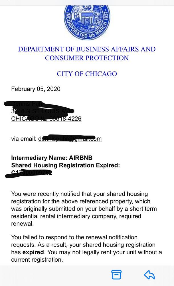Registration or re-register