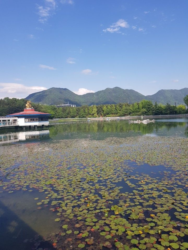lake park @changwon