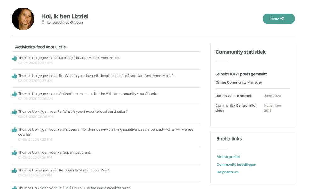 [Nieuw] Update: Profielpagina van het Community Centrum