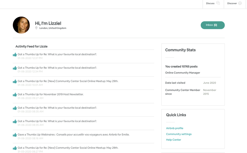 [New] Updates: Community Center Profile Page
