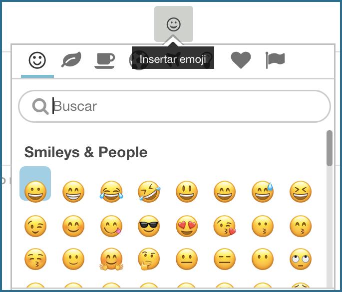 [Novedad] Los emojis ya están disponibles en el Centro de la Comunidad