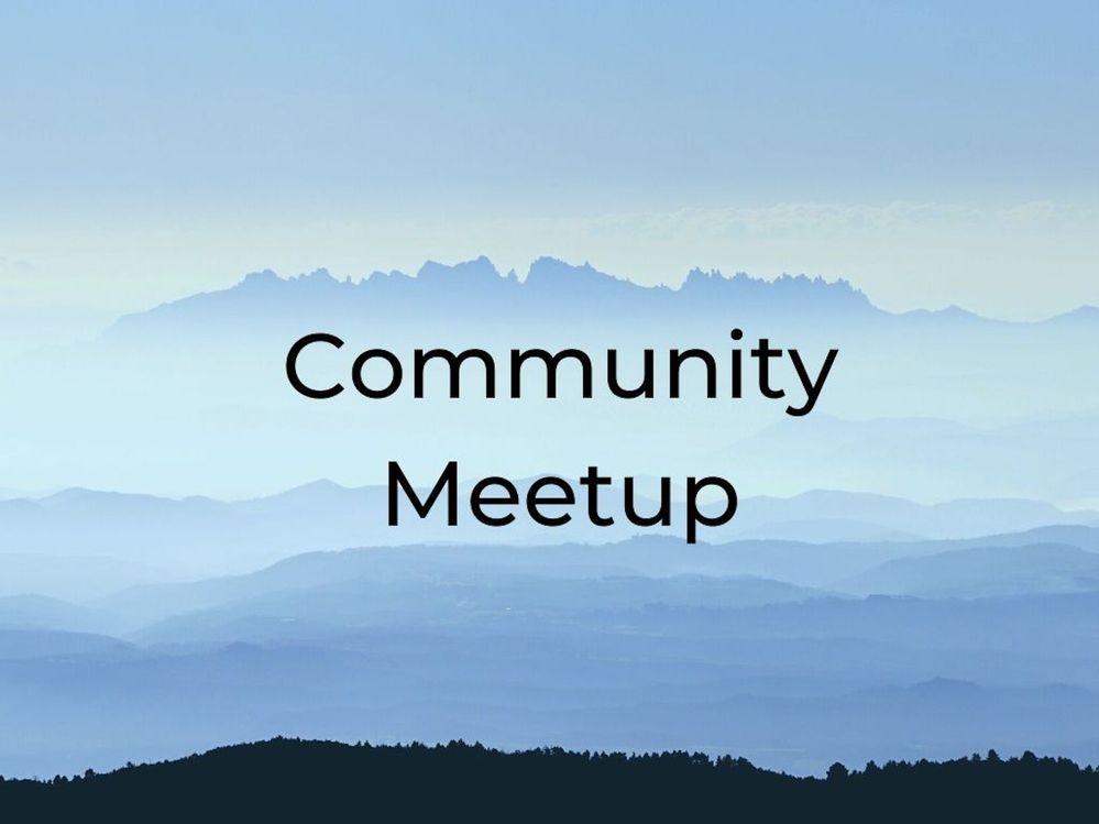 [Meetup] Community Center Social Online Meetup: June 12th