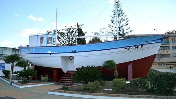 El famoso barco de Chanquete, de la serie Verano Azul
