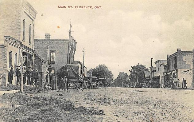 historic Florence, Ontario