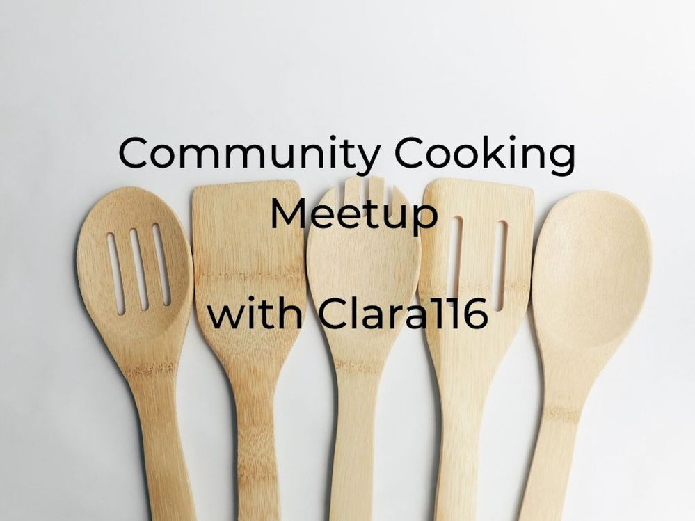 [Meetup] Community Center Cooking together: July 15th