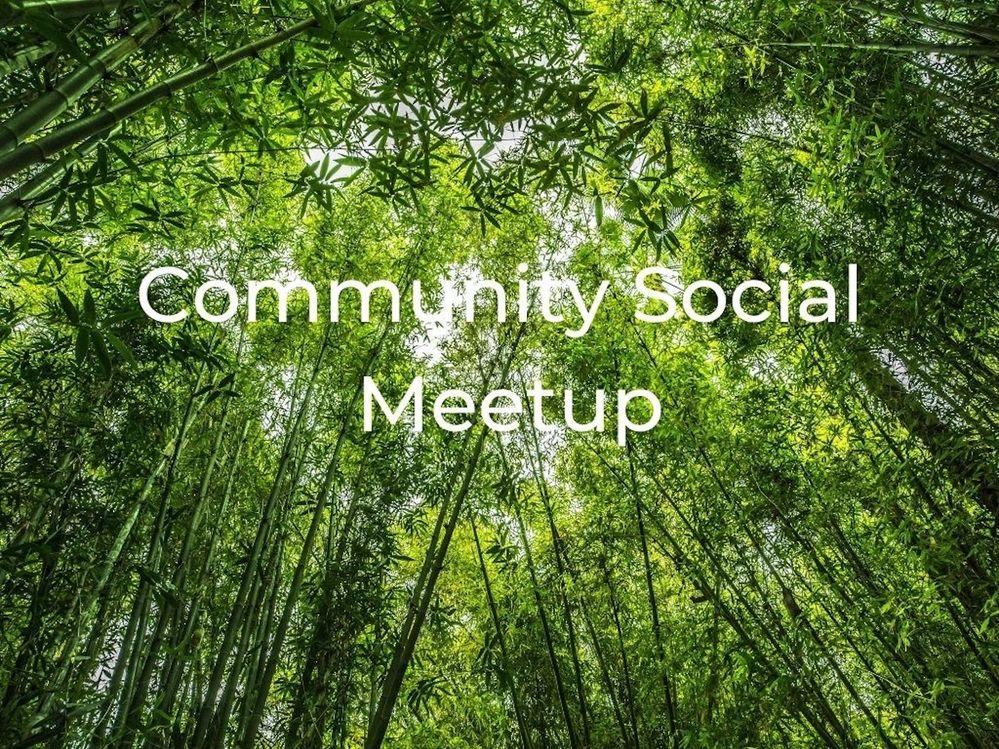 [Meetup] July 29th: Community social