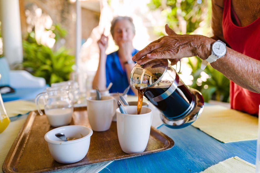 Wat was je ervaring met het ontvangen van gasten tot nu toe?
