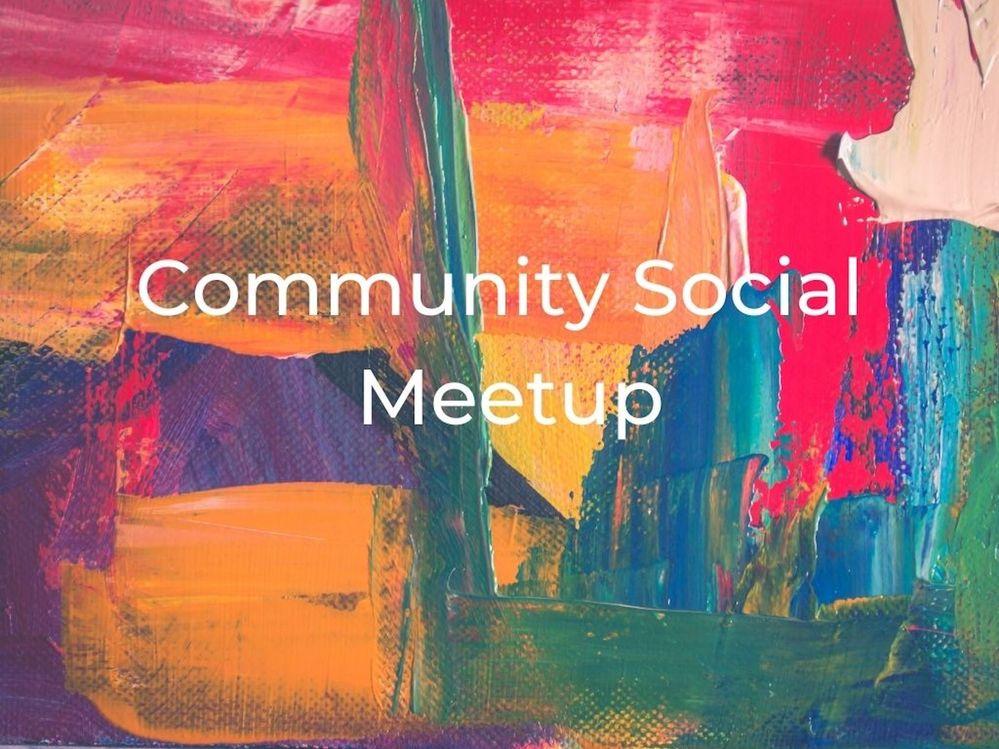 [Meetup] September 23rd: community social