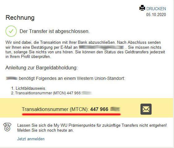 2020-10-06 - Chile 2 WU Transaktionsnummer.jpg