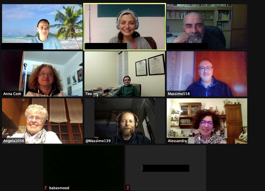 GRAZIE ! Web chiacchierata di community di Ottobre