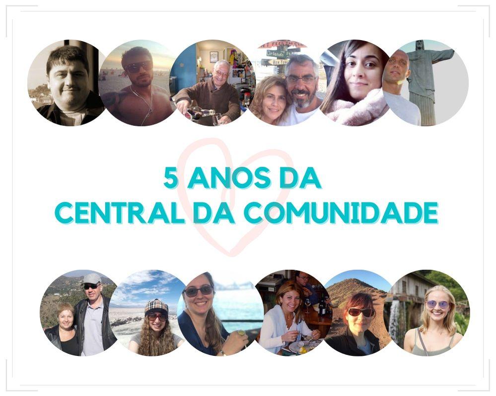 Celebrando 5 anos da Central da Comunidade!