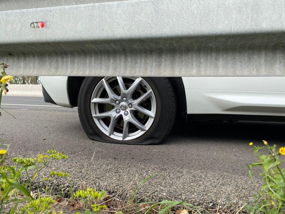 le pneu fautif
