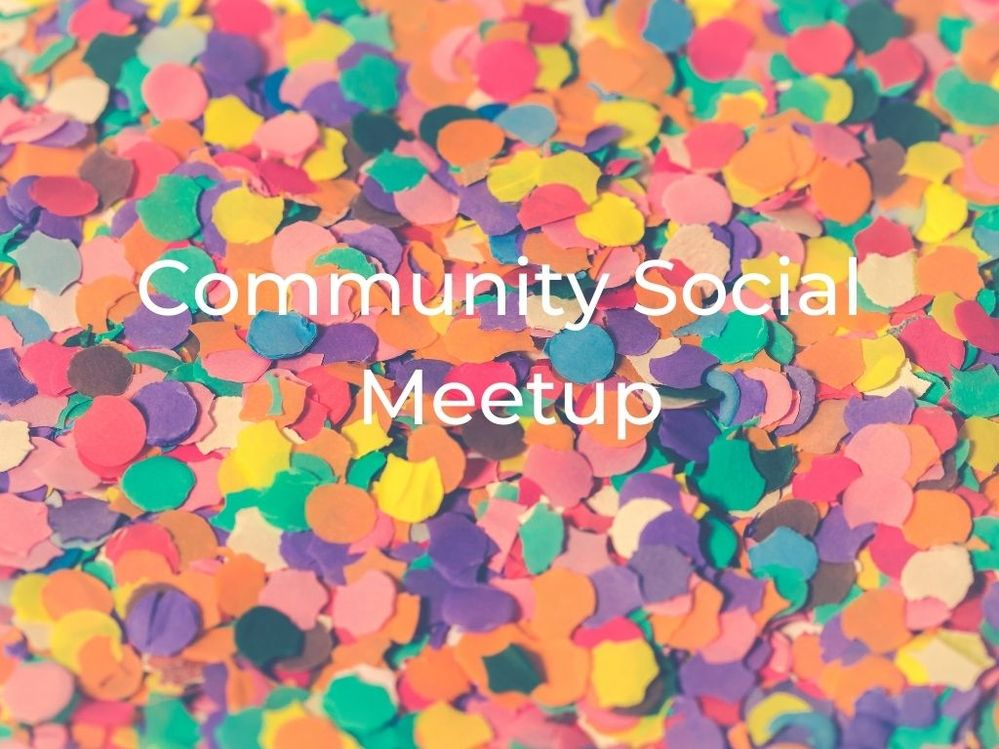 [Meetup] November 25th, 2020: Community Social